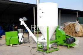 100KG/H Fish Feed Production Line In UK