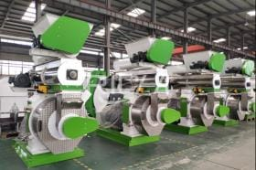 10-12T/H Forage Grass Pellet Production Line In USA