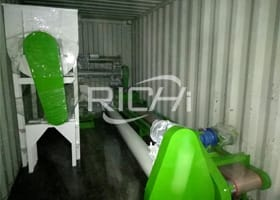 1-2T/H Chicken Feed Pellet Plant In Tanzania