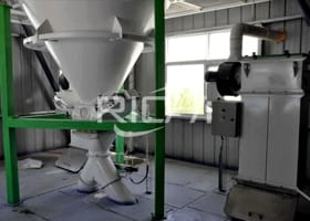 5-6T/H Cattle Feed+10T/H Chicken Feed Pellet Production Line In Saudi Arabia
