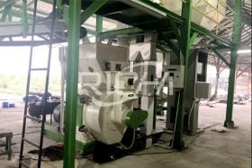 1-1.5t/h Wood Pellet Production Line In Indonesia