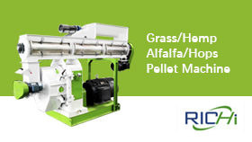Alfalfa/Hemp/Grass/Hops Pellet Machine