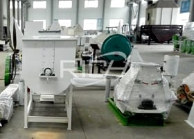 The 1-2T/H Feed Powder Production Line In Tanzania