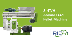 Test Video For 3-4T/H Feed Pellet Machine