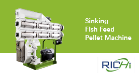 Sinking Fish Feed Pellet Machine