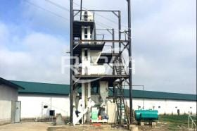 The 3-5T/H Poultry feed pellet line in Senegal