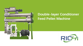 Double-layer Conditioner Feed Pellet Machine