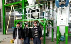 The 10-15T/H Poultry Feed Pellet Line In Afghanistan