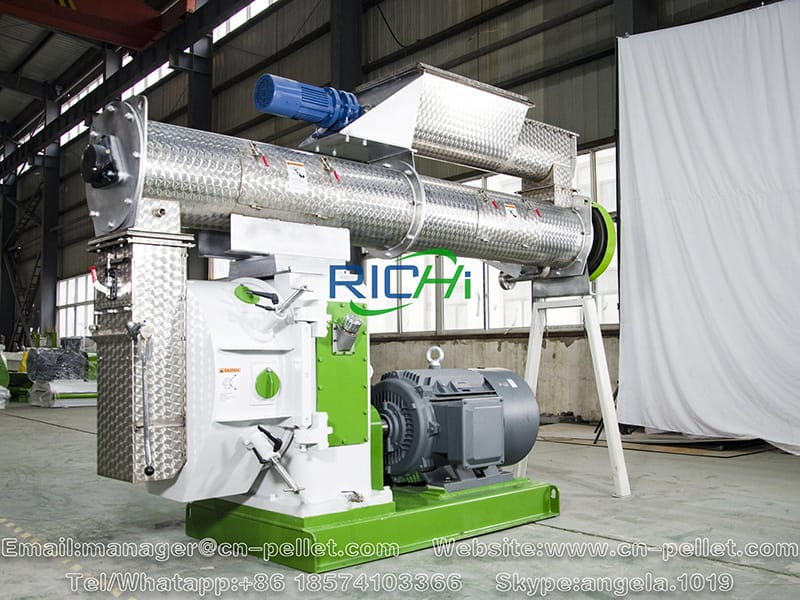 feed pelleting machine