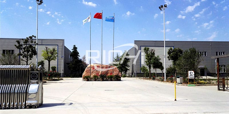 China animal feed mill plant manufacturer