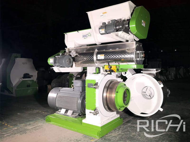 Factory offered new agricultural waste rice husk pellet machine for sale
