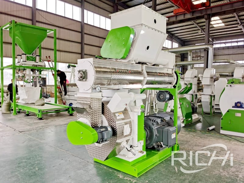 stable performance wood pellet mill