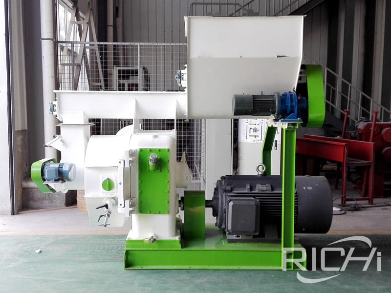 small capacity 200-300kg/h sawdust pellet mill machine