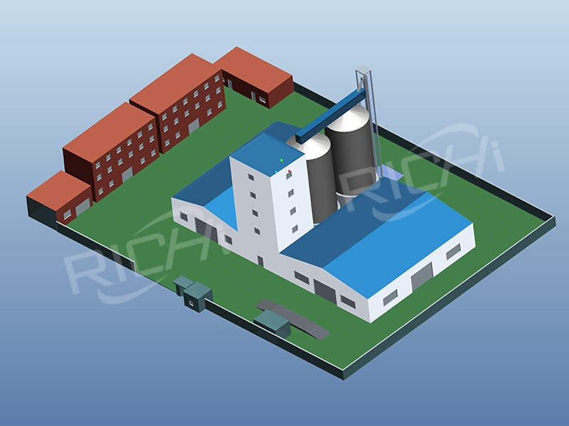animal poultry cattle chicken shrimp feed pellet production line