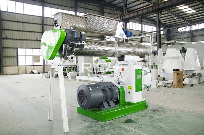 CE vertical ring die pellet machine price