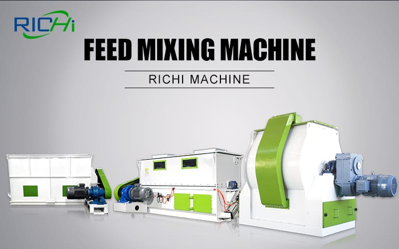 industrial Horizontal Poultry feed  Blending Mixer price