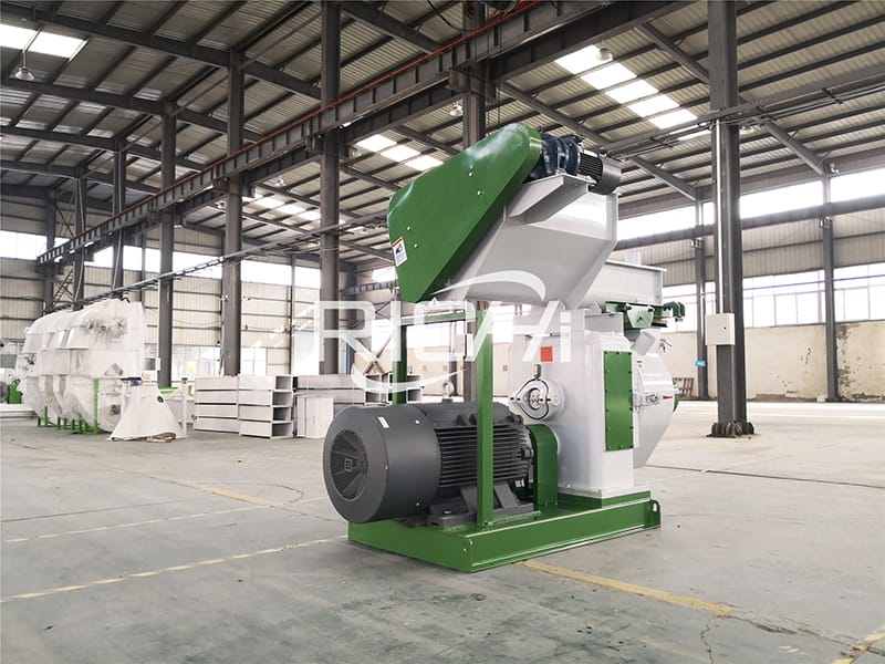 China professional machinery complete wood pellet production line price