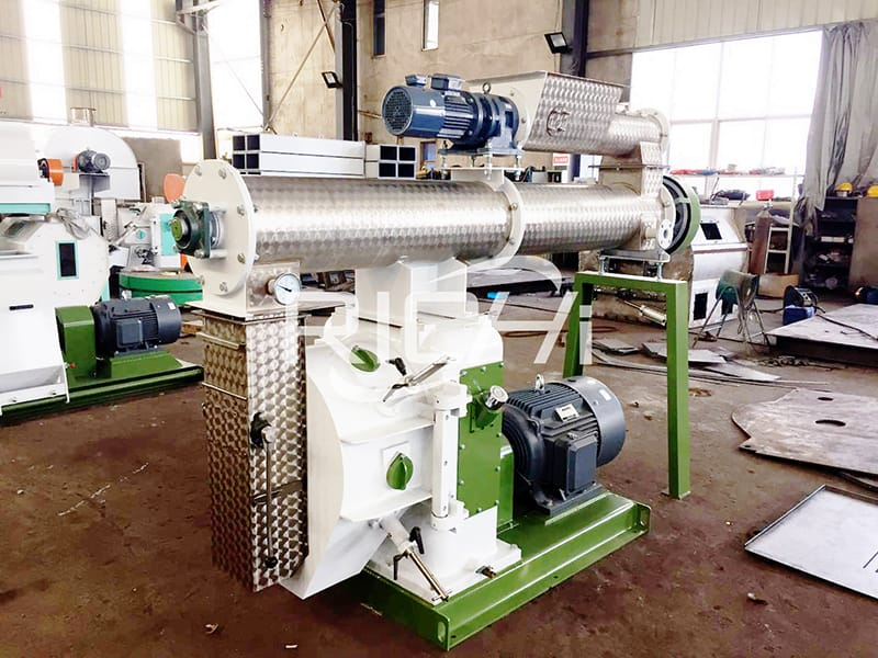 Simple operation portable small animal feed pellet mill machine