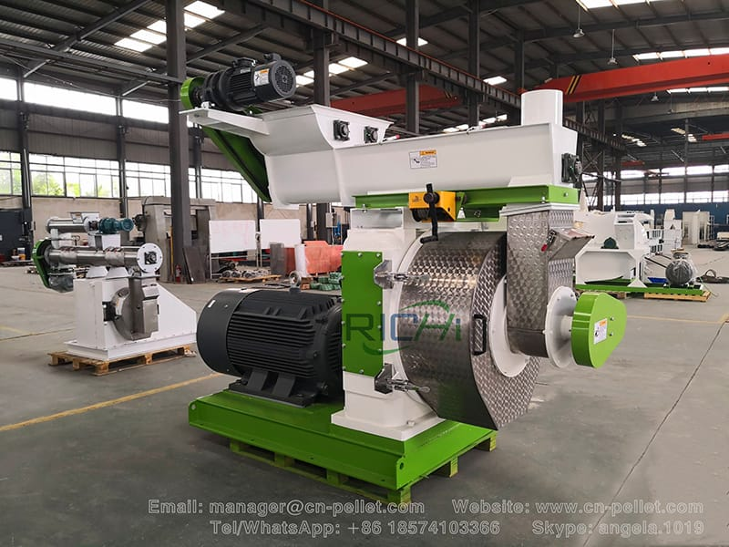 High efficiency good quality mini wood pellet machine biomass wood pellet mill
