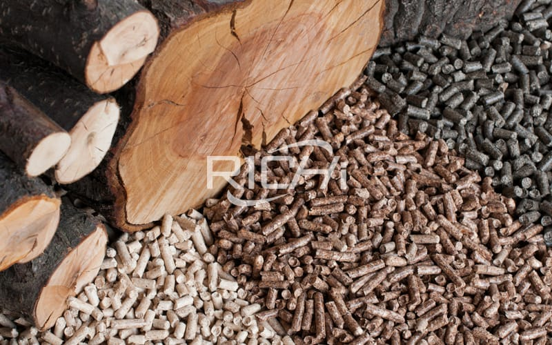 factory supply 5 ton per hour customized biomass wood pellet line project