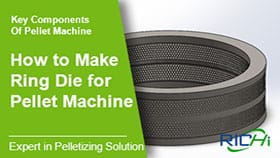 How is a high-quality pellet machine ring die produced