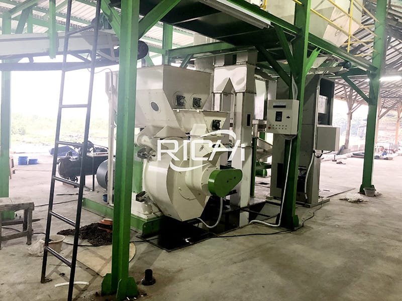 1-20 tph high quality ce wood pellet mill line