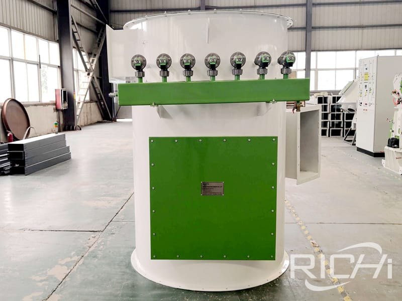 big animal poultry cattle feed mill plant line with simple design
