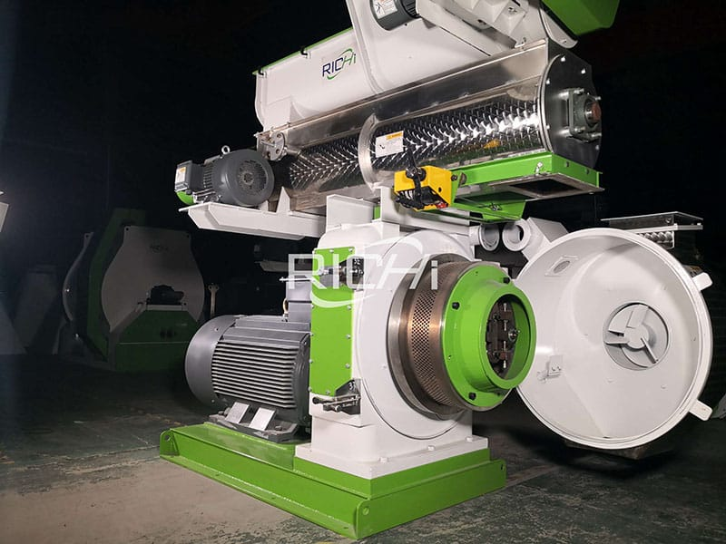 1-2 ton per hour ce high quality grass pellet mill machine for sale