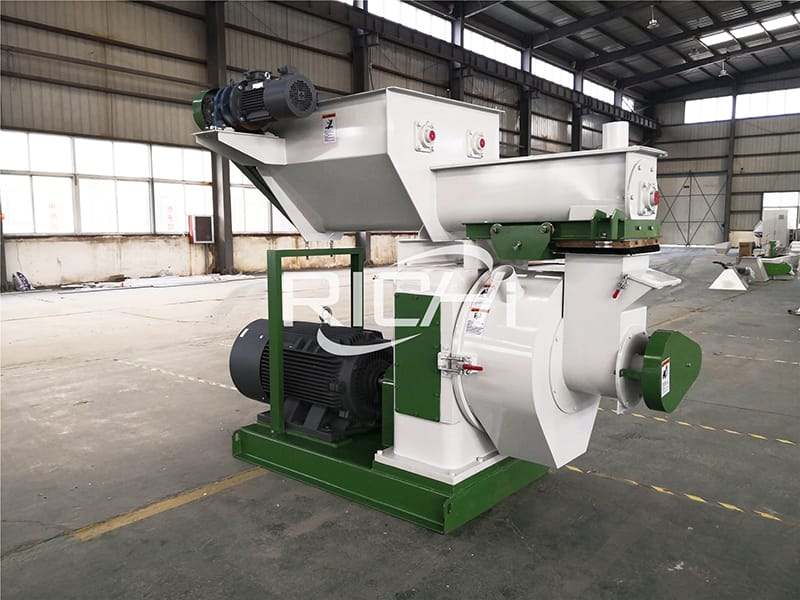 ce 1 ton per hour biomass wood pellet machine made in CHina