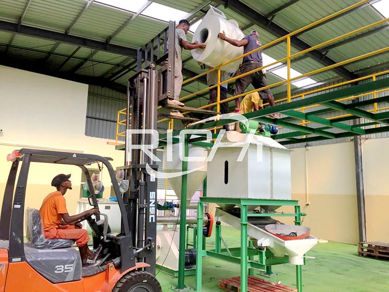 2 ton per hour poultry chicken  feed plant formulation mill processing equipment