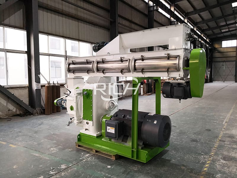 automation lubrication system 2-3 T/h wood pellet machine