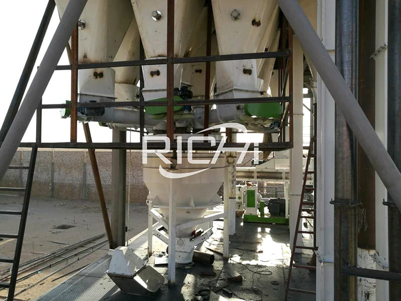 broiler poultry feed machine used in 10-20 ton feed factory