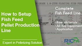 Complete Fish Feed Production Line