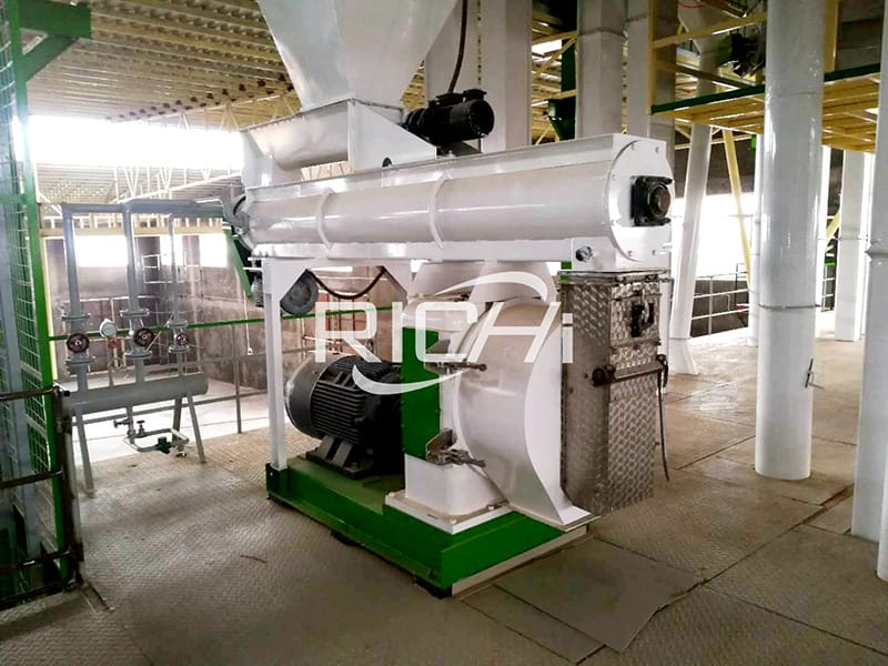 Conventional Small feed mill plant 1-2 ton per hour 250 feed mill