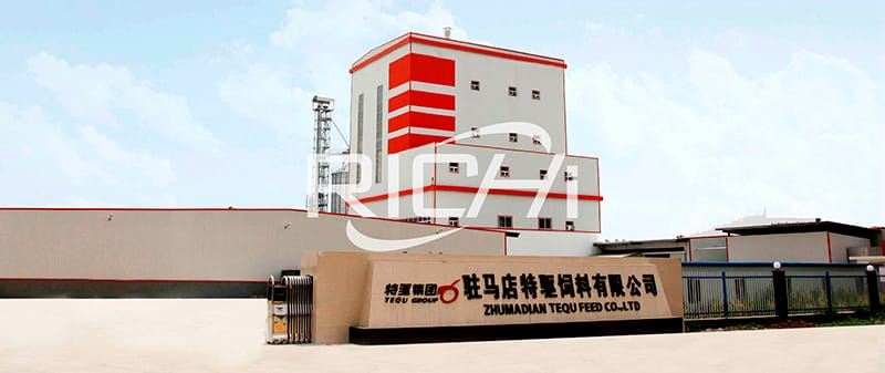 poultry chicken fish feed pellet production line 1-20t/h