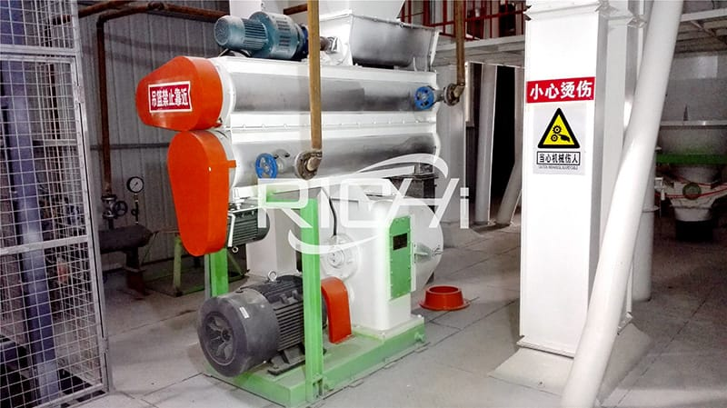 small plant chicken cattle poultry feed pellet production line
