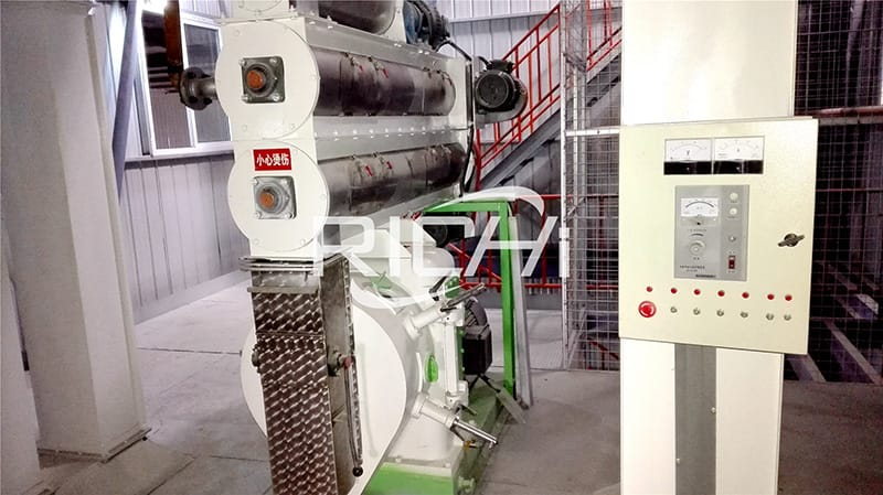 2020 new 3t/h chicken and cattle feed pellet production line
