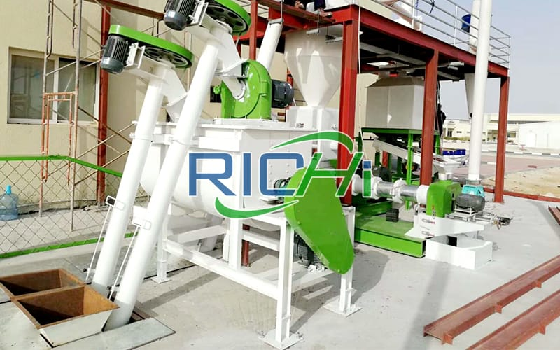 Manufacture Suppy for Animal Chicken Cattle Feed Production Line