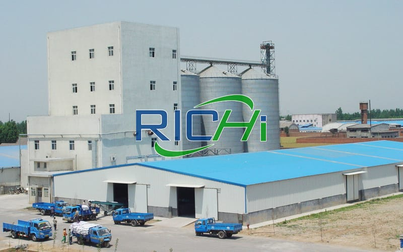 20t/h Widely used wholesale poultry feed production line investment