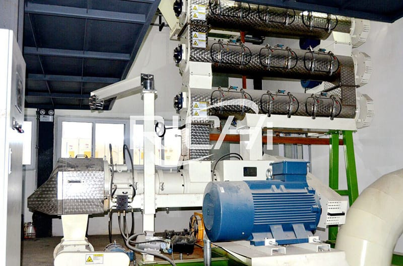 large capacity animal feed processing line machine manufacturers
