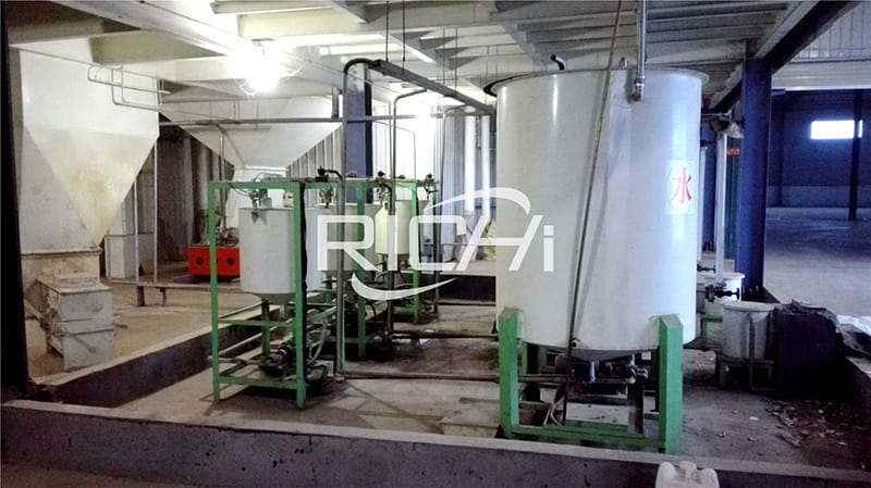 global animal feed production line