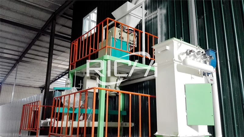 10 manufacturing and operational plant for poultry feed products