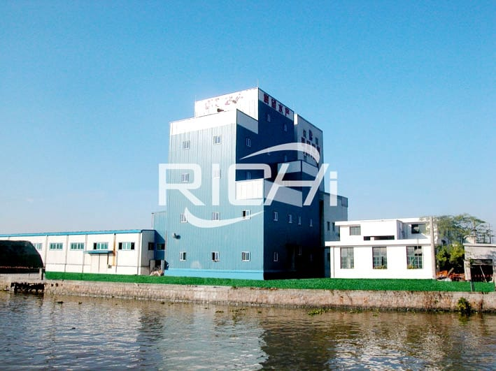 EPC project large capacity 60t/h aquatic feed 75t/h poultry feed production factory in China