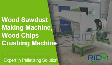 Wood Sawdust Making Machine, Wood Chips Crushing Machine