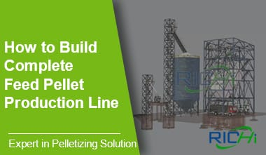 How to build a complete animal feed pellet production line
