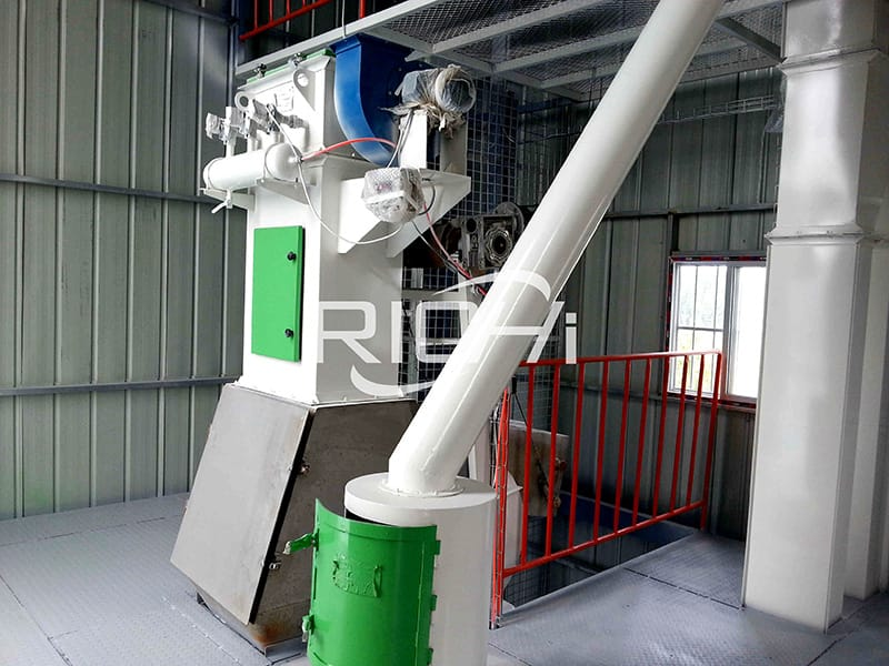 turn-key poultry cattle feed pellet plant for sale