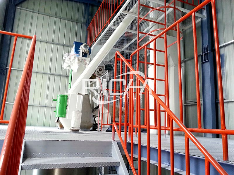 5 ton per hour poultry animal feed processing plant