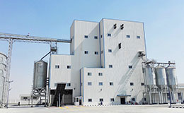 10T/H poultry chicken pellet feed manufacturing plant in Fergana