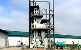 3-5T/H poultry chicken feed mill plant