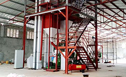 3-5T/H chicken poultry feed pelleting production line